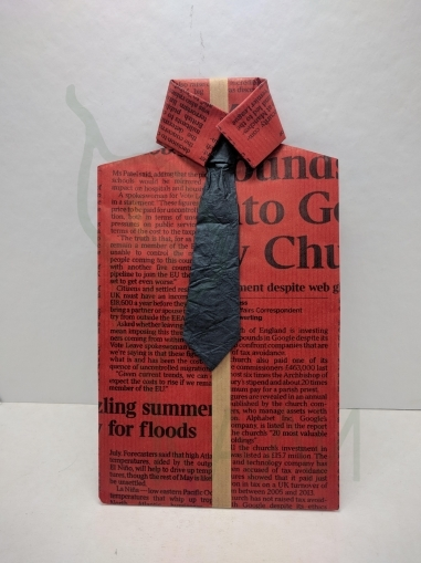 Handmade envelope shirt type